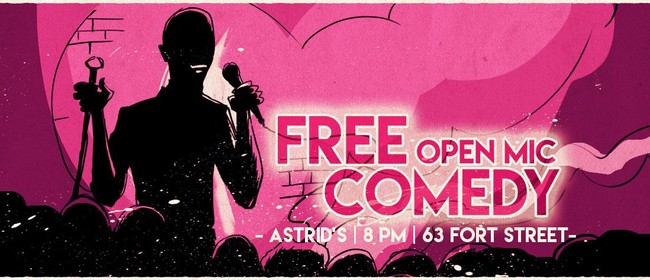 Open Mic Comedy and Wakachangis