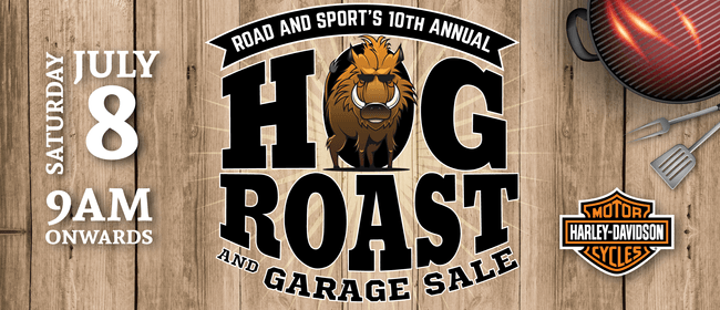 Road and Sport Hog Roast and Garage Sale
