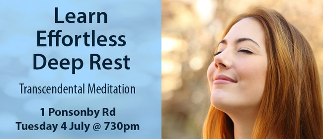 Transcendental Meditation Ponsonby Event