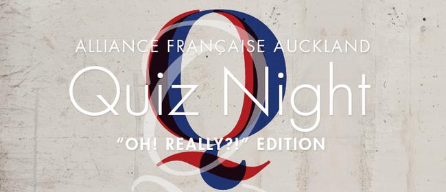 Alliance Française Quiz Night