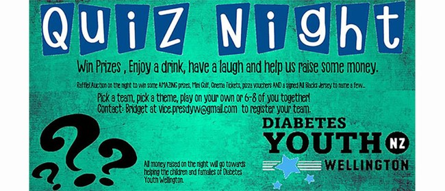 Diabetes Youth Wellington Quiz Night