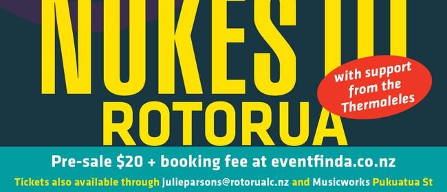 The Nukes III Album release show Rotorua