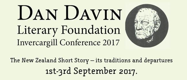 Dan Davin Short Story Conference