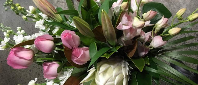 Luxurious Hand Tied Bouquet - Floral Workshop