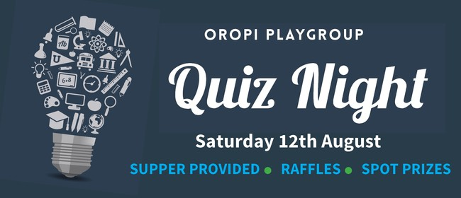 Playgroup Quiz Night