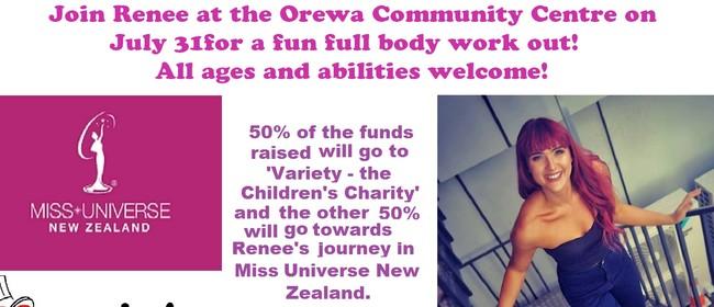 Orewa Fun Boot Camp Fundraiser