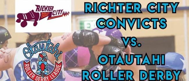 Otautahi Roller Derby vs Richter City Convicts