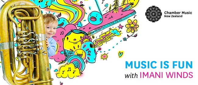 CMNZ Presents: Musical Is Fun With Imani Winds