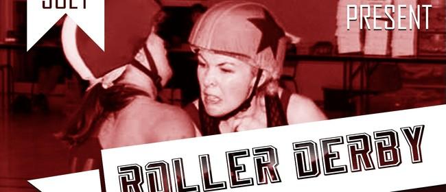 Hells Wives vs Taranaki Roller Corps - Roller Derby
