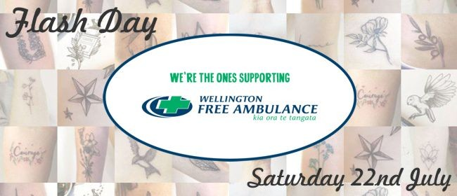 Tattoo Flash Day for Wellington Free Ambulance