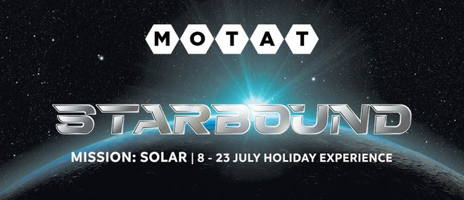 July Holiday Experience - Starbound Mission Solar