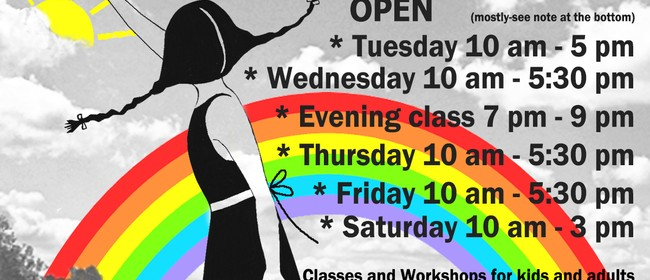 School Holiday Art Classes for Kids