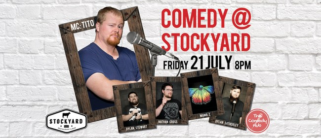 Comedy At Stockyard