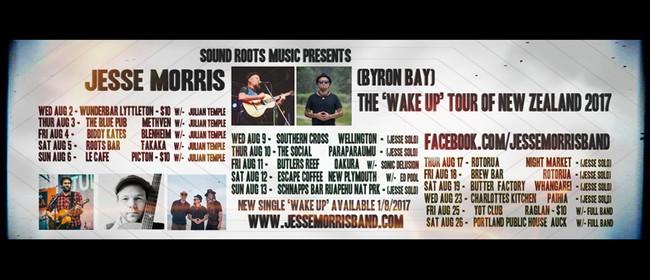Jesse Morris (Byron Bay) & Julian Temple (Dunedin)
