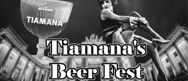 Tiamana's Beer Fest