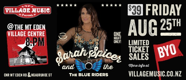 Sarah Spicer and the Blue Riders in Concert