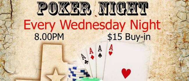 Texas Hold 'em Poker & Whisky Night