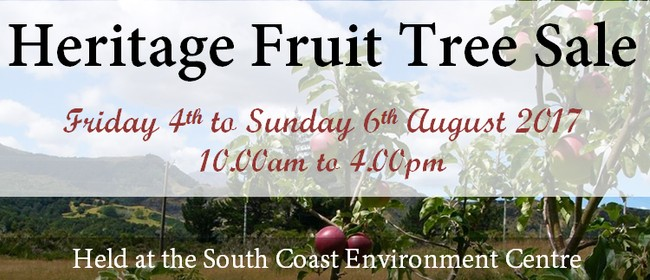 Heritage Fruit Tree Sale