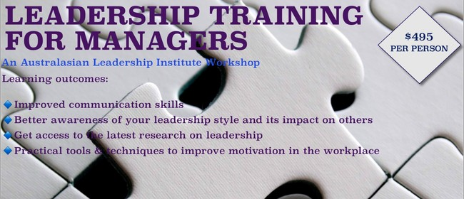 Leadership Training For Managers