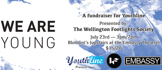 We Are Young - A Fundraiser for Youthline Wellington