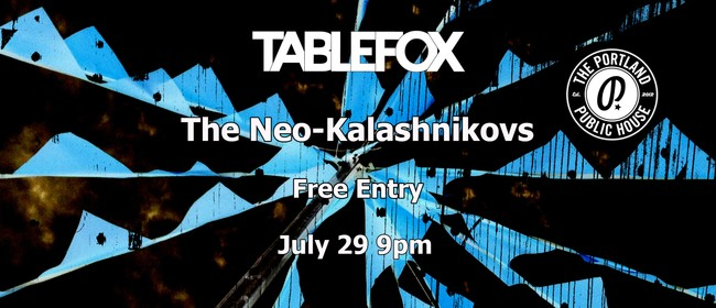 Tablefox EP Release Show With The Neo-Kalashnikovs