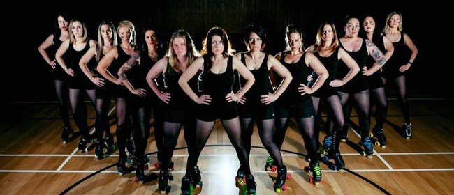 Queen of The Rink - Taupo Roller Derby League Huka Dolls