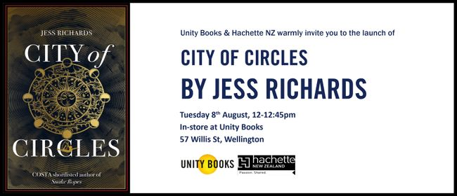 Launch - City of Circles by Jess Richards