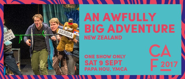 Christchurch Arts Festival 2017 - An Awfully Big Adventure