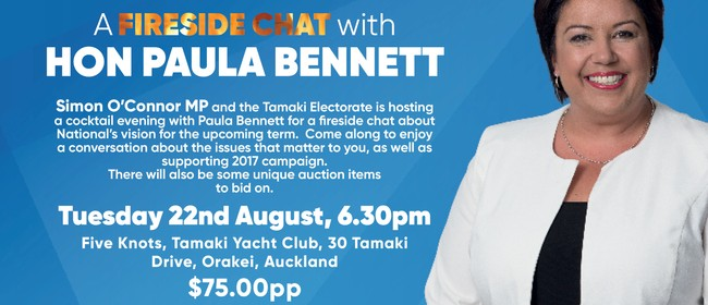 Fundraising Cocktail Evening With Paula Bennett