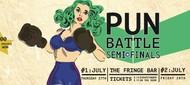 The Wellington Pun Battle Semi-Finals