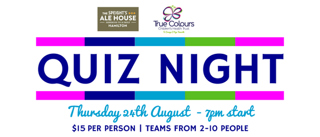 True Colours Quiz Night
