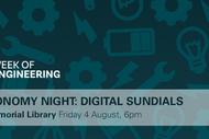 Astronomy Night: Digital Sundials