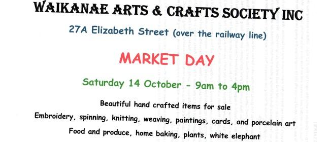Waikanae Arts and Crafts Society Market Day
