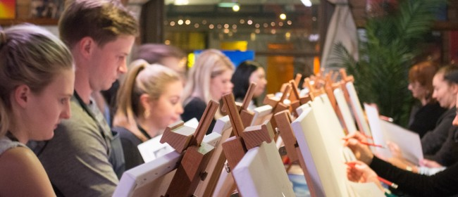 Cork & Canvas Paint Night - Field of Daffodils