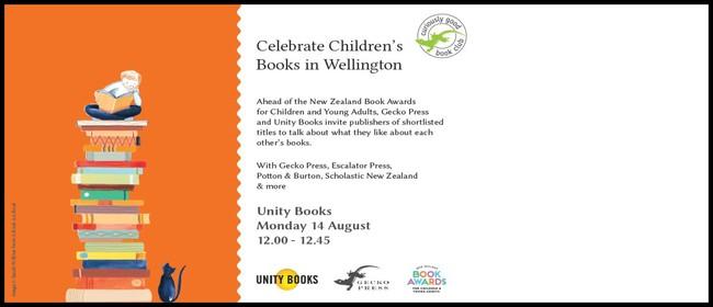 Lunchtime Event - Celebrate Children's Books
