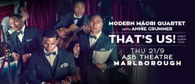 Modern Maori Quartet: That's Us! Album Tour