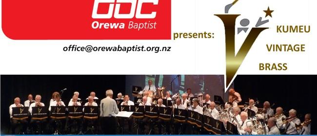 Kumeu Vintage Brass Band Concert