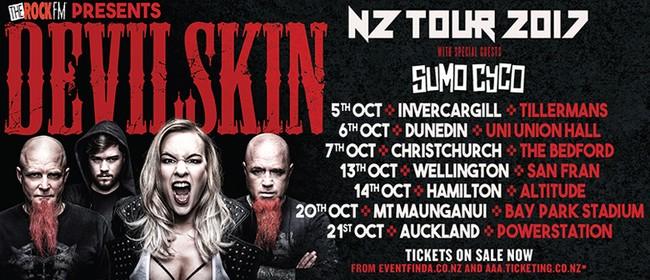 Devilskin NZ Tour 2017