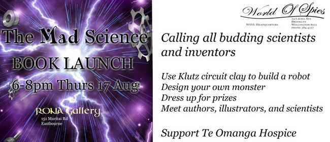 The Mad Science Book Launch With Frankie and Miss Lionheart