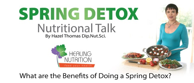 What Are the Benefits of Doing a Spring Detox?: CANCELLED