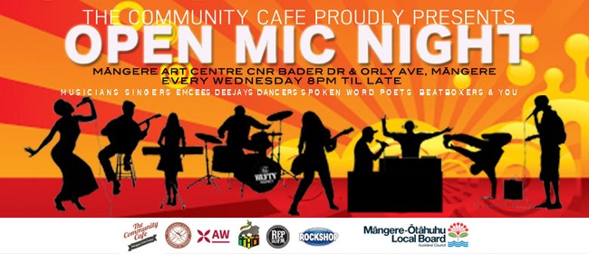The Community Cafe Open Mic Nights