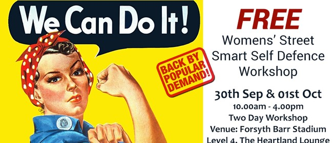 Women's Street Smart Free Self Defence Workshop: CANCELLED
