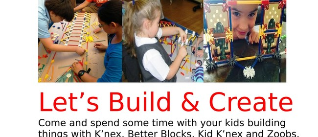 Let's Build & Create