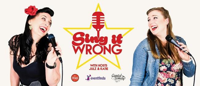 Sing It Wrong