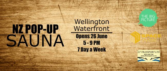 Wellington Waterfront Pop-Up Sauna