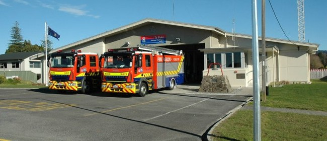 Te Puke Fire Station