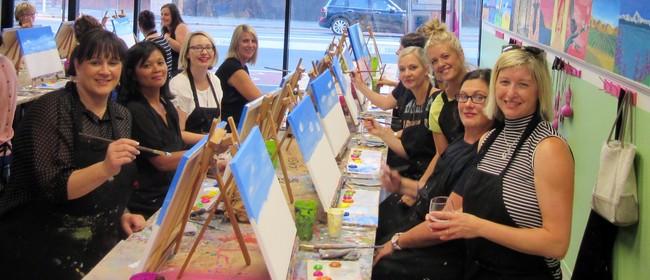 Paint 'n' Sip Studio, Queenstown